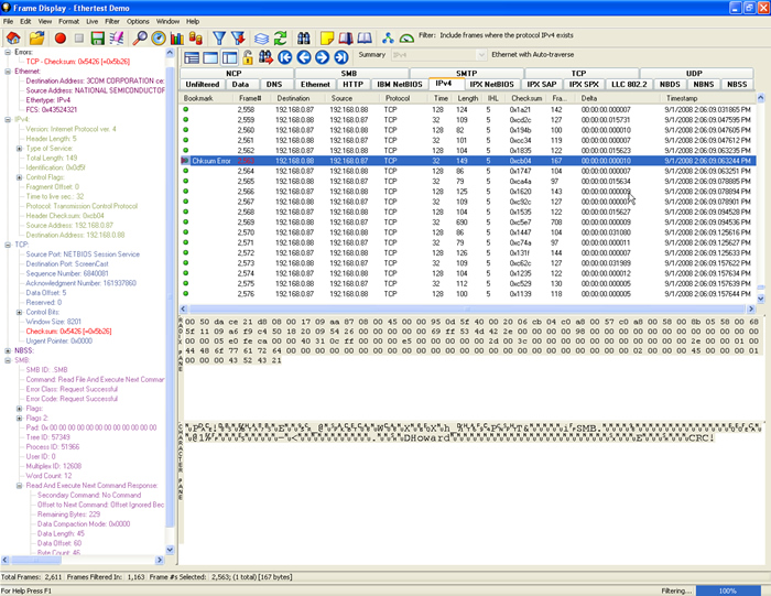 Ethernet Protocol Analysis