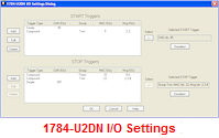 1784-U2DN I/O Settings