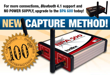 Frontline ComProbe BPA 500 - New Capture Method